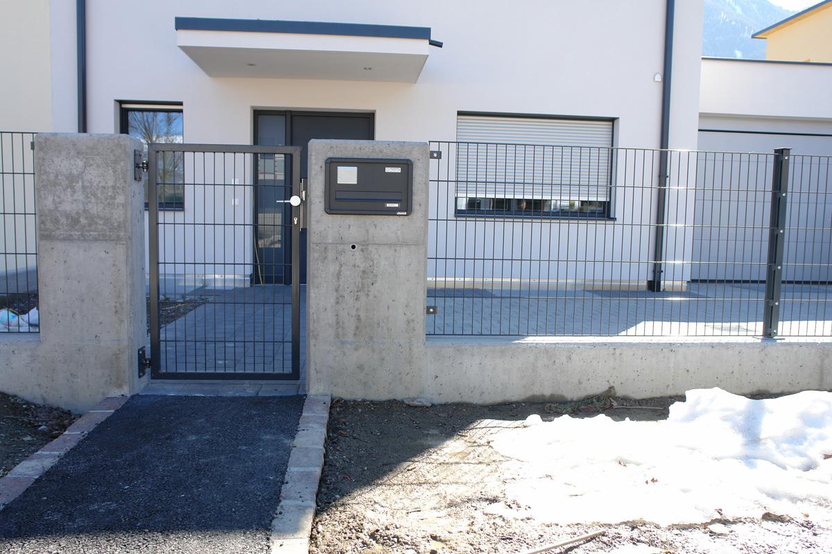 Wartungsfreie ALU Zäune ALU Balkone und Zaunanlagen in Südtirol