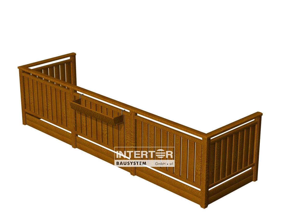 Intertor offre Recinzioni e Balconi in Alluminio simil legno