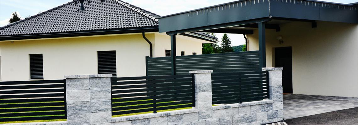 Wartungsfreie Inox Zäune aus Südtirol