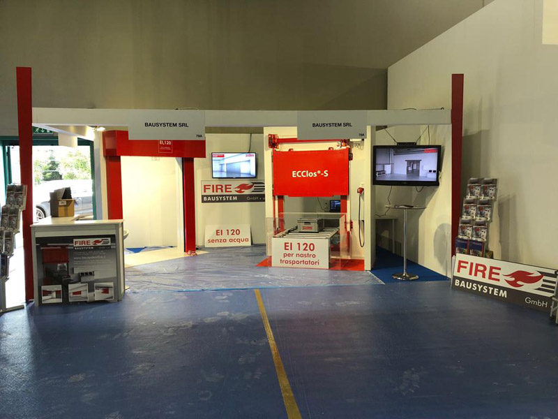 Safety Expo Tende Tagliafuoco EI120 Fibershield-I