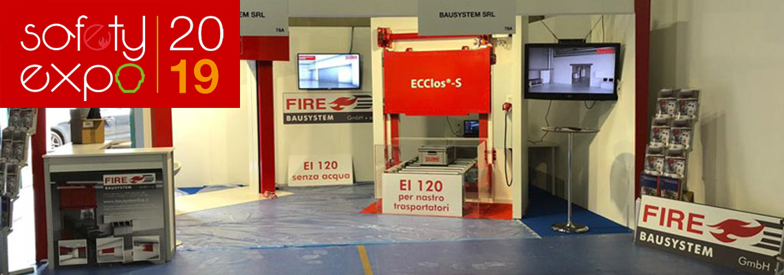 Stand Bausystem Fire a Safety Expo