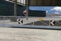 Freitragendes Schiebetor Alpe