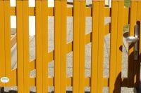 Stahl Gartentuer Acciaio Porta Giardino