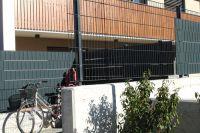 Wohnbau Lana Alu Zaun